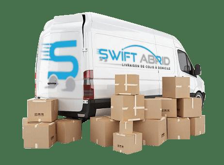 Colis livrés - Swift Abrid